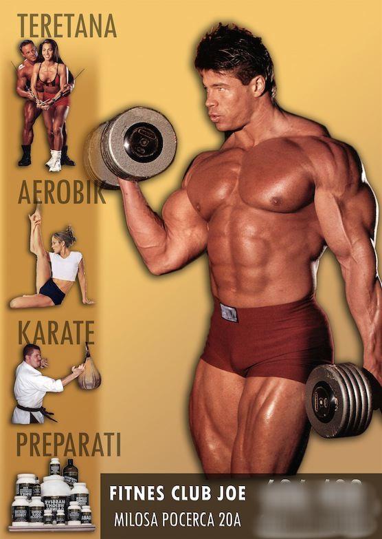 fitness club joe beograd