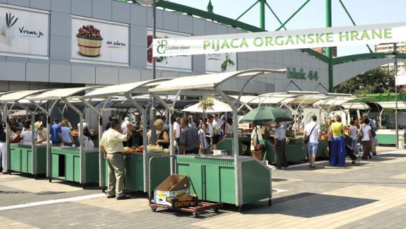 Organska pijaca Novi Beograd
