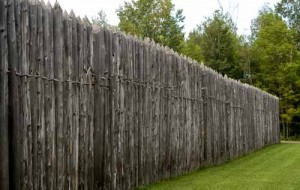 Drvene barikade za rimsku vojsku postavljene na pnaninskim prelazima.