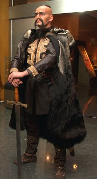 Krum khan - prvi bugarski vođa.
