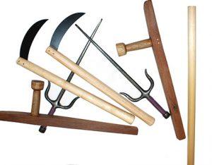 Kobudo equipment weapons