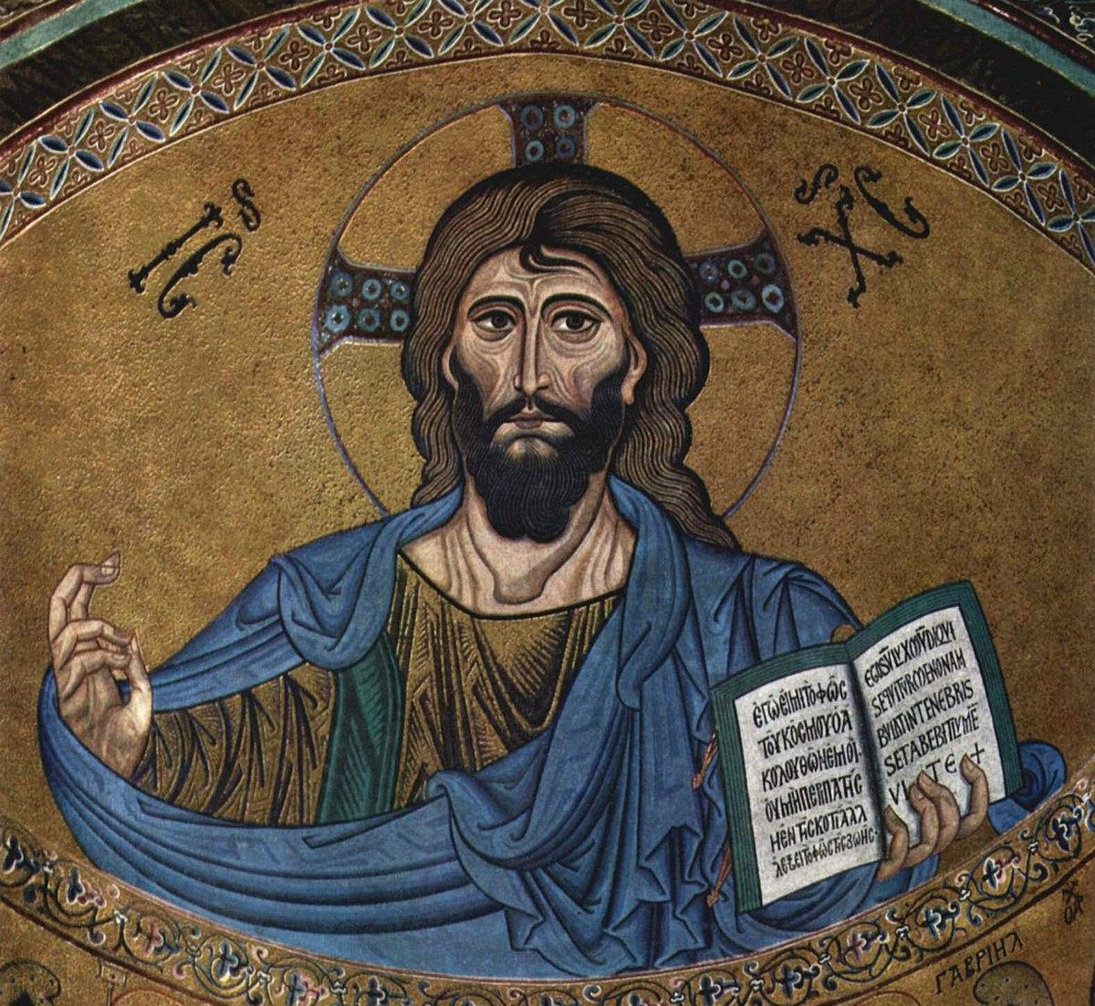 Христ Пантократор се налази у куполи сваког православног храма. Тајна је у књизи коју држи и симболу који показује.